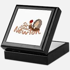 Sir Isaac Newton Keepsake Box