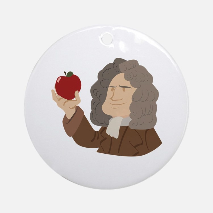 Isaac Newton Ornament (Round)