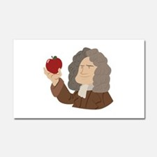 Isaac Newton Car Magnet 20 x 12