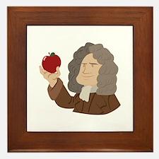 Isaac Newton Framed Tile