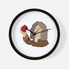 Isaac Newton Wall Clock