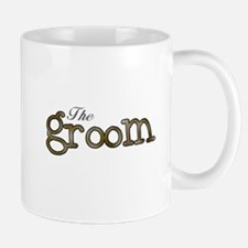 Silver and Gold Groom Mug