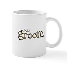 Silver and Gold Groom Small Small Mug