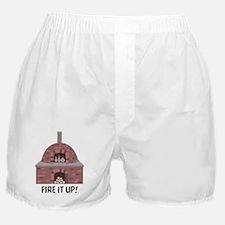 Pottery Kiln Fire Boxer Shorts