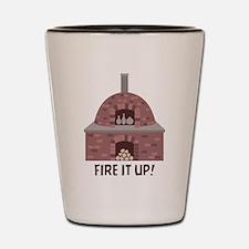Pottery Kiln Fire Shot Glass