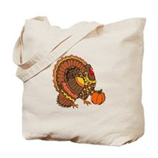 Holiday Turkey Tote Bag