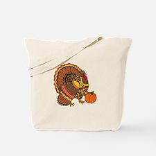 Holiday Turkey Tote Bag