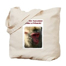 Macaque Whack! Tote Bag