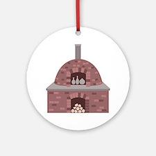 Pottery Kiln Ornament (Round)