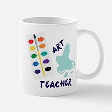 Watercolor Artist Paint Palette Art Teacher Mugs