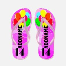 Love Pink 14th Flip Flops