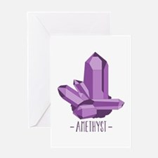 Amethyst Greeting Cards