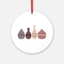 Pottery Vases Ornament (Round)