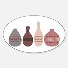 Pottery Vases Decal