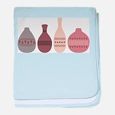 Pottery Vases baby blanket