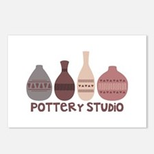 Pottery Vases Studio Postcards (Package of 8)