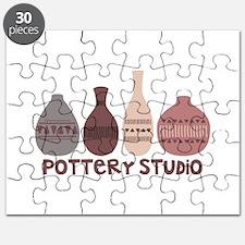 Pottery Vases Studio Puzzle