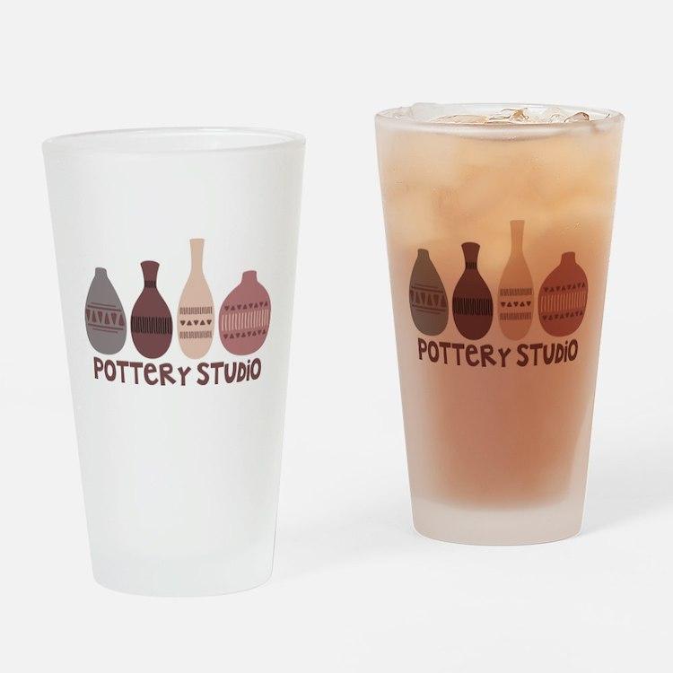 Pottery Vases Studio Drinking Glass