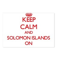 Keep calm and Solomon Isl Postcards (Package of 8)