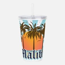 Malibu California Acrylic Double-wall Tumbler