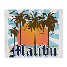 Malibu California Throw Blanket