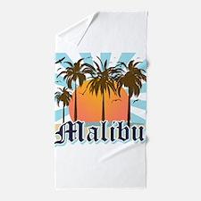 Malibu California Beach Towel