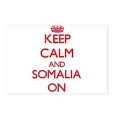 Keep calm and Somalia ON Postcards (Package of 8)