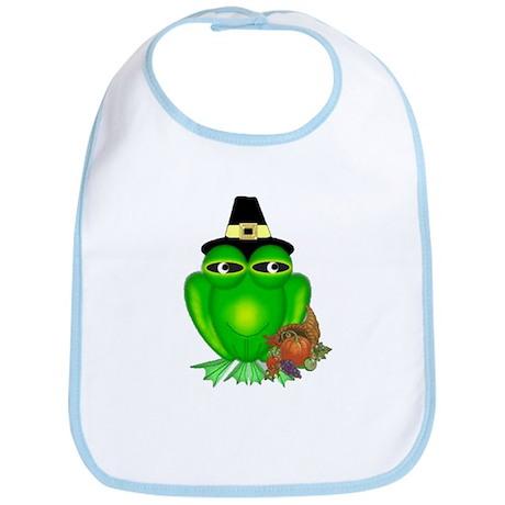 Thanksgiving Frog Bib