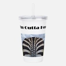 I'm Outta Here Acrylic Double-wall Tumbler