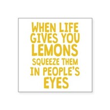 Antisocial Lemons Sticker