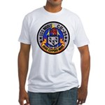 USS BIDDLE Fitted T-Shirt