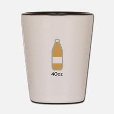40 ounce beer Shot Glass