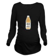 40 ounce Long Sleeve Maternity T-Shirt
