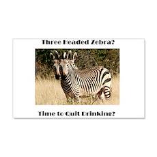 Three Headed Zebra? Wall Decal