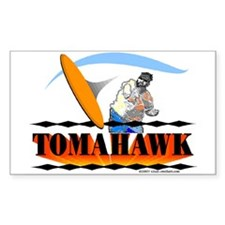 TOMAHAWK Rectangle Decal