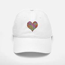 Peace Sign Heart Cap