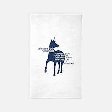 Unicorns Area Rug