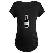 Beer Bottle Maternity T-Shirt