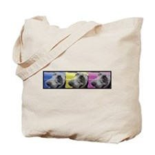 Tri-Color Weimaraner Tote Bag