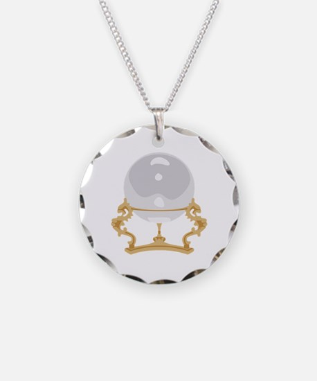 Crystal Ball Psychic Reading Necklace