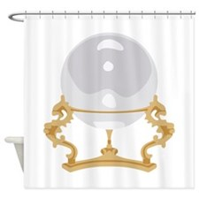 Crystal Ball Psychic Reading Shower Curtain