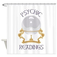 Psychic Reading Shower Curtain