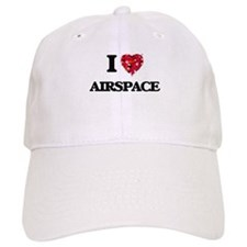 I Love Airspace Baseball Cap