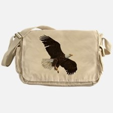 Amazing Bald Eagle Messenger Bag
