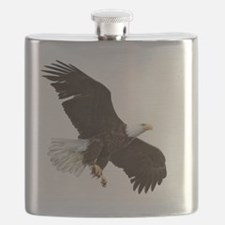Amazing Bald Eagle Flask