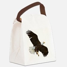 Amazing Bald Eagle Canvas Lunch Bag