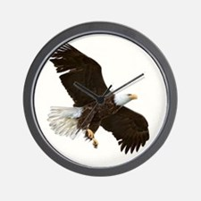 Amazing Bald Eagle Wall Clock