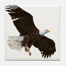 Amazing Bald Eagle Tile Coaster
