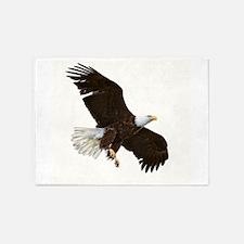 Amazing Bald Eagle 5'x7'Area Rug