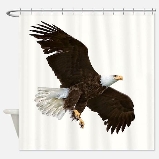 Amazing Bald Eagle Shower Curtain